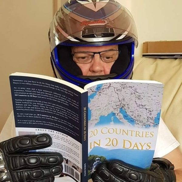 Motorcycle adventure book, riding from England to Asia and back again European motorcycle tour