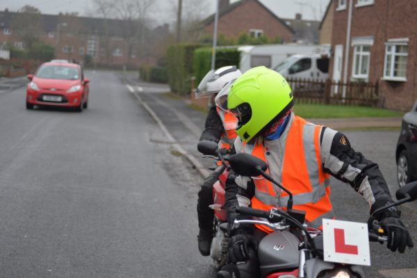 Pass the Module tow motorcycle test
