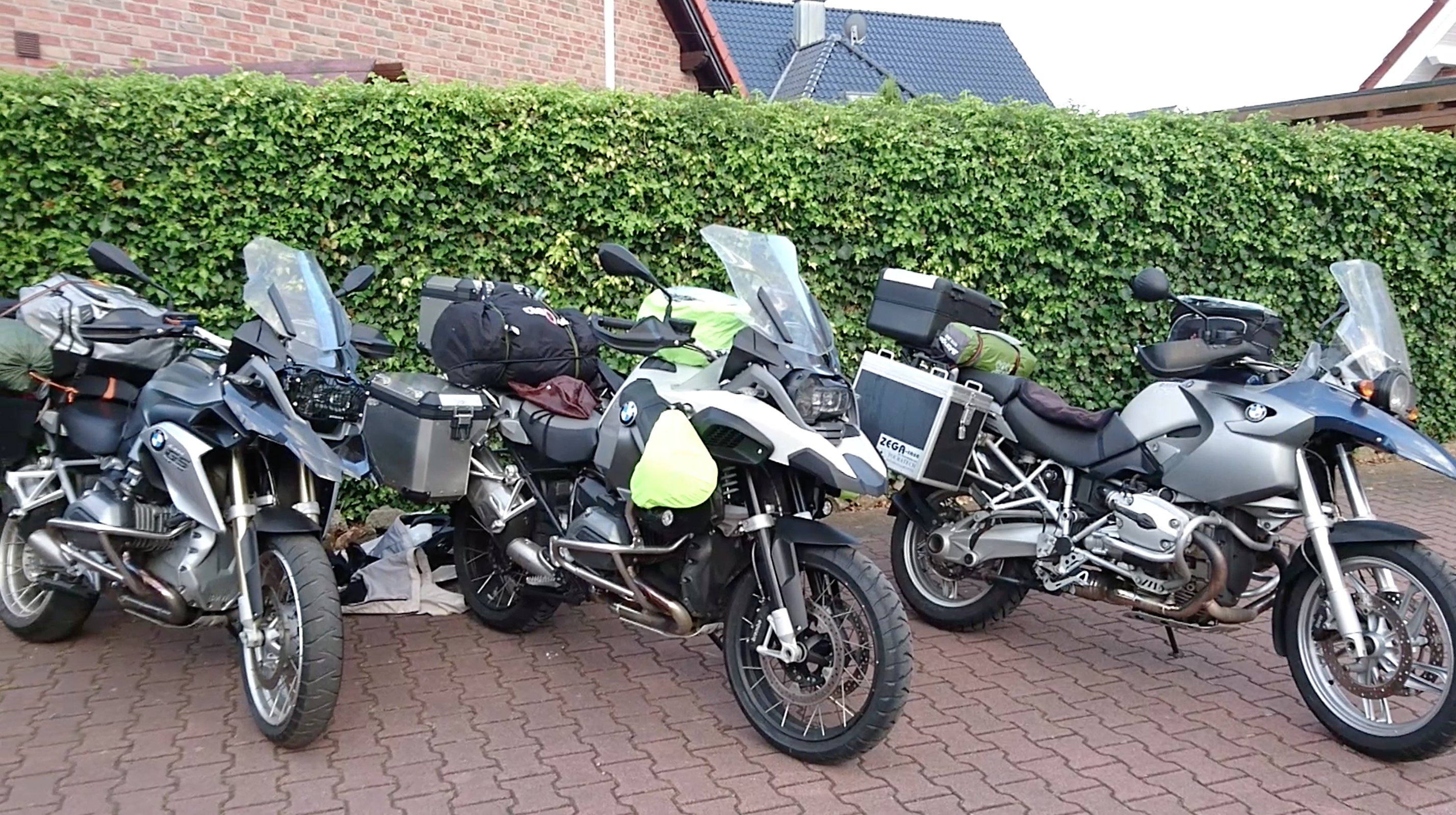 BMW R 1200GS Motorcycles European motorcycle tour Germany