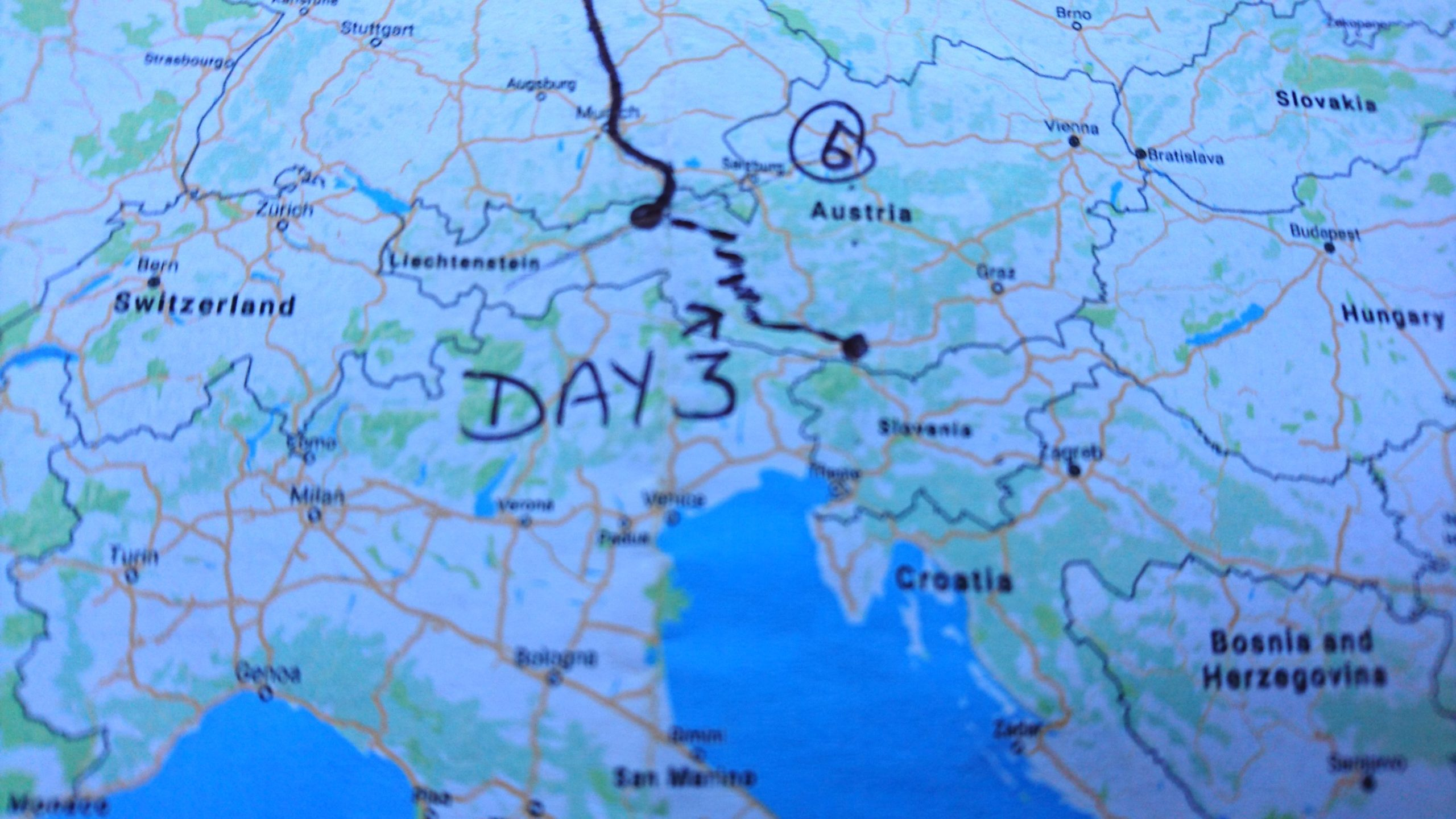 European motorcycle tour Grossglockner Pass – 20 Countries in 20 Days (Day 3)