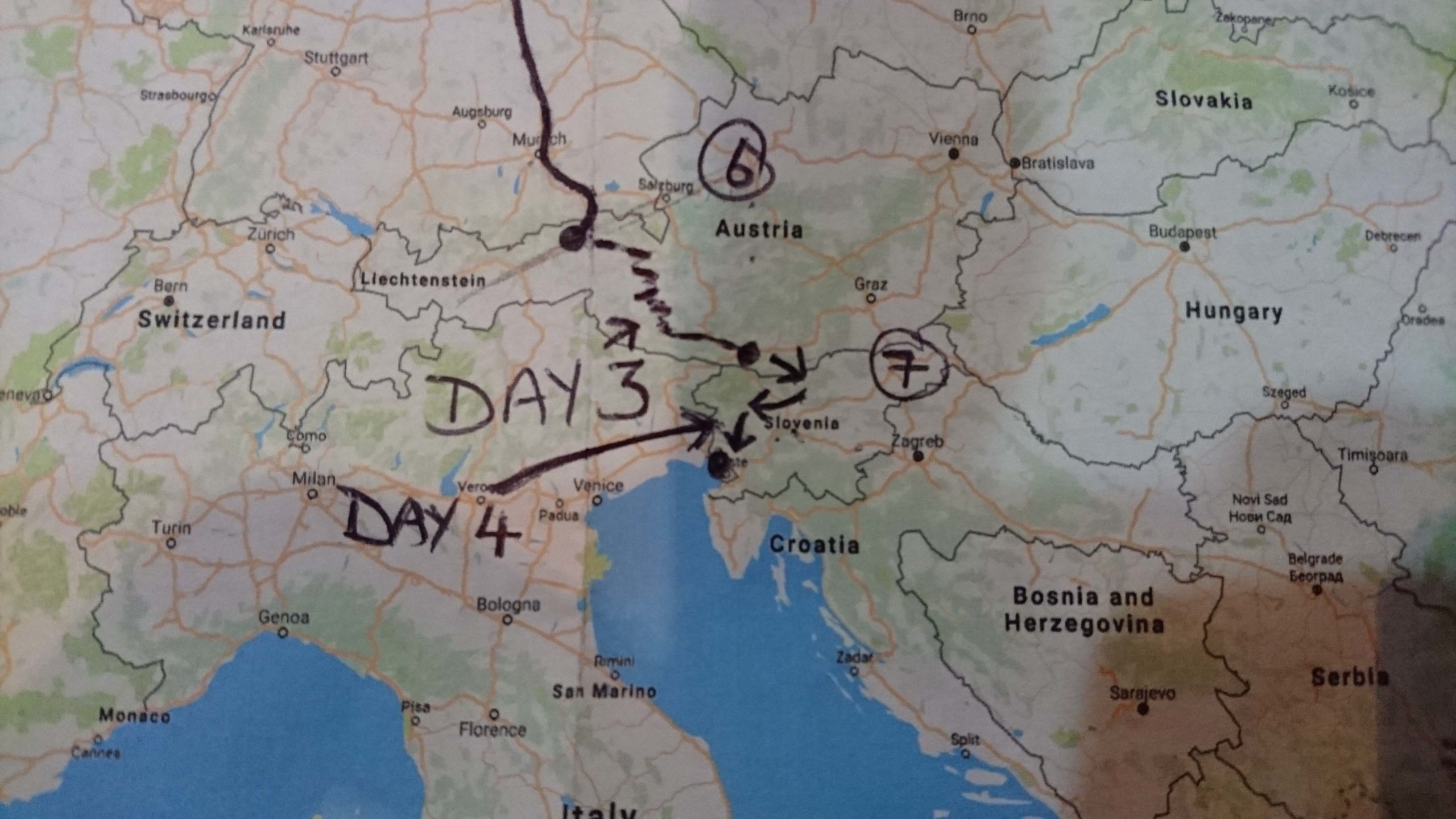 European motorcycle tour Slovenia – 20 Countries in 20 Days (Day 4)