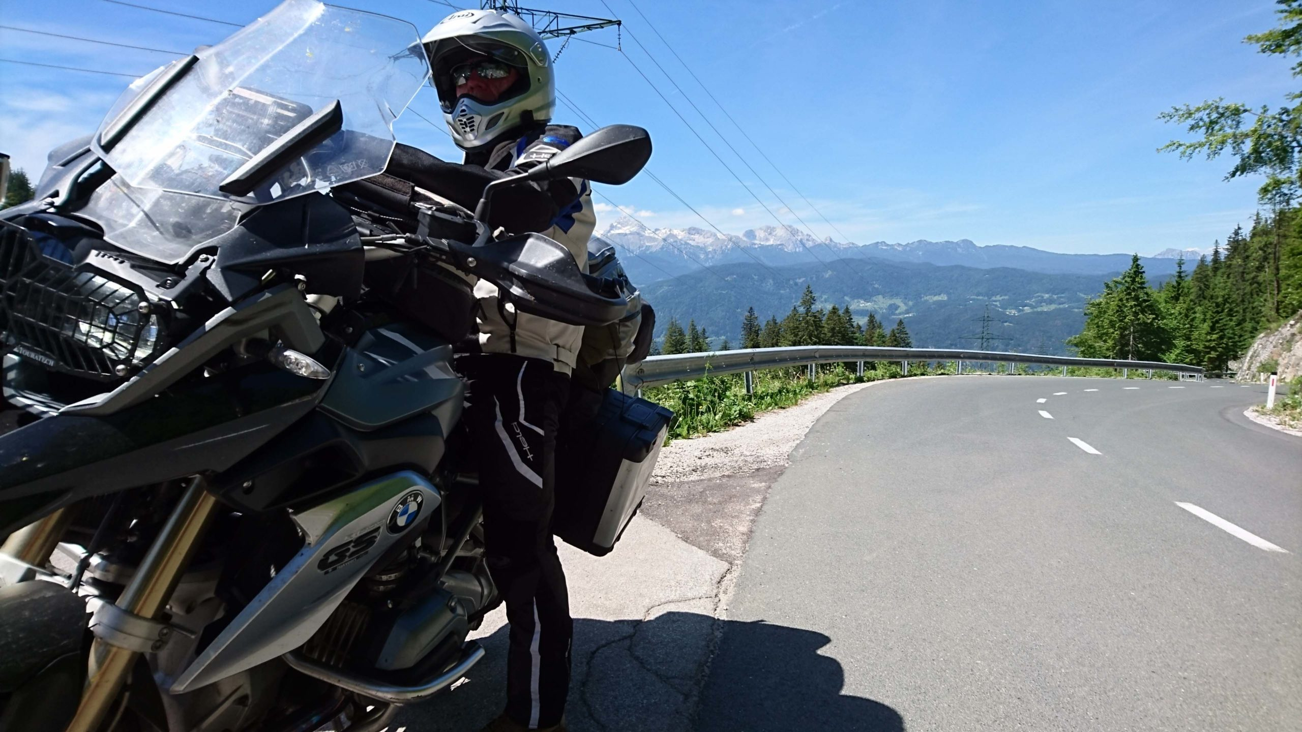 European motorcycle tour Slovenia - Trenta Pass