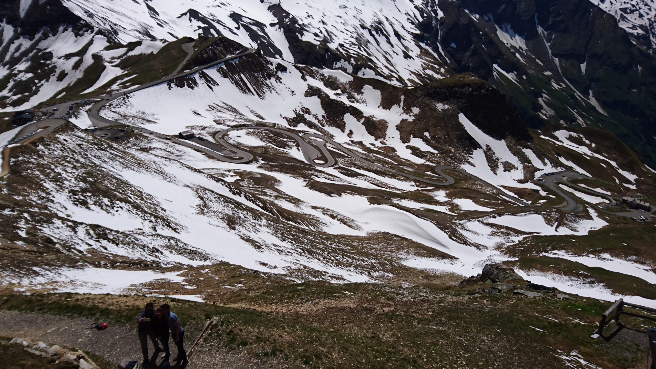 European motorcycle tour Austria Grossglockner Pass – 20 Countries in 20 Days (Day 3)