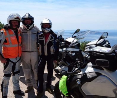 European motorcycle tour Slovenia & Croatia Dalmatian coast